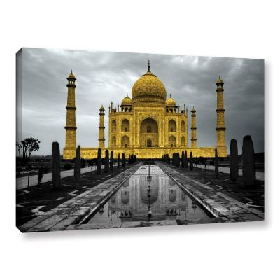 """Taj Mahal"" by Revolver Ocelot Unframed Canvas Wall Art"