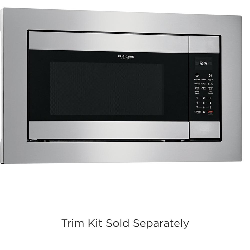 Frigidaire 2 Cu Ft Built In Microwave Stainless Steel