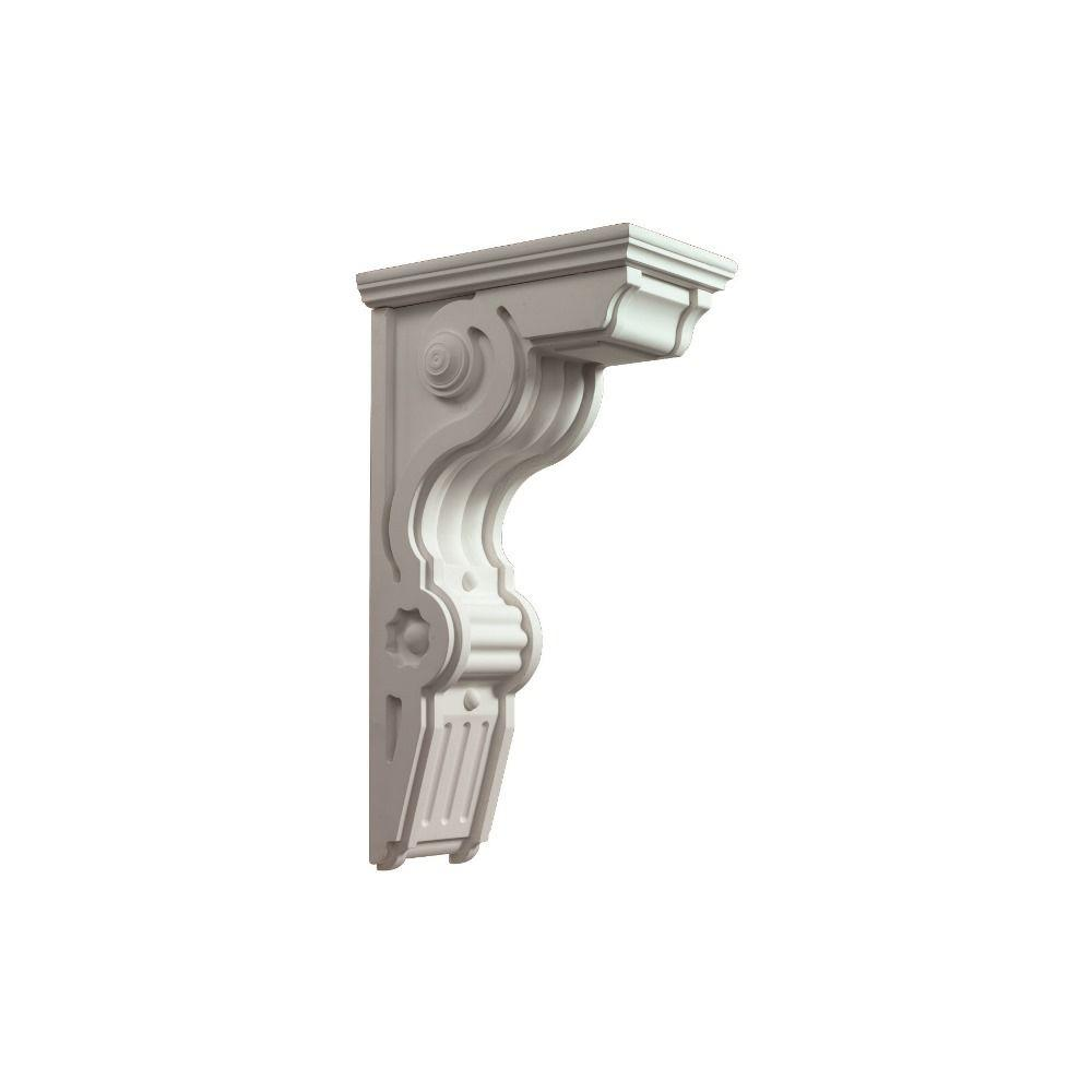 Fypon 20 In X 6 1 2 In X 11 In Polyurethane Bracket Bkt11x20x6 The Home Depot