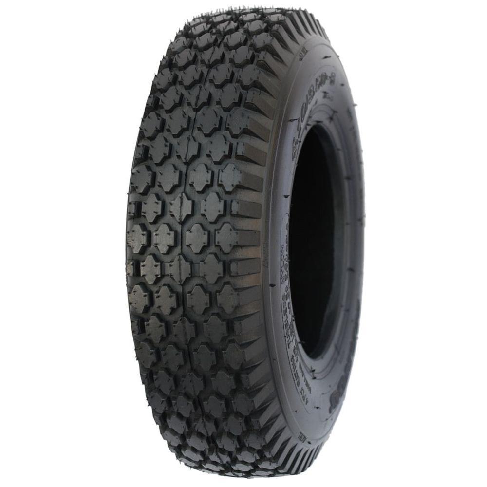4.80 in./4.00 in.-8 2PR Stud Wheel Barrow Tire