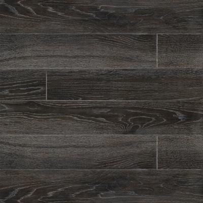 Benson Nero 6 in. x 36 in. Matte Porcelain Floor and Wall Tile (13.5 sq. ft./Case)