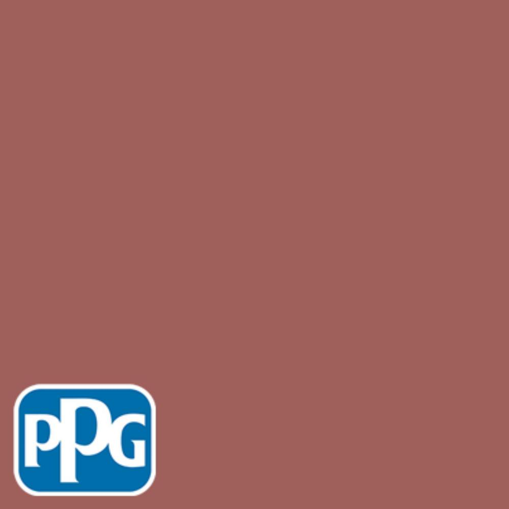 Hdppgr64 Rusty Red Eggshell Interior Exterior Paint Sample