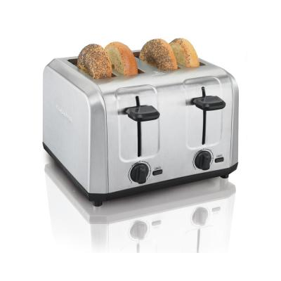 1500 W 4 Slice Stainless Steel Toaster