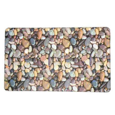 Premium Reversible Memory Foam 18 in. x 30 in. Anti-Fatigue Kitchen Mat