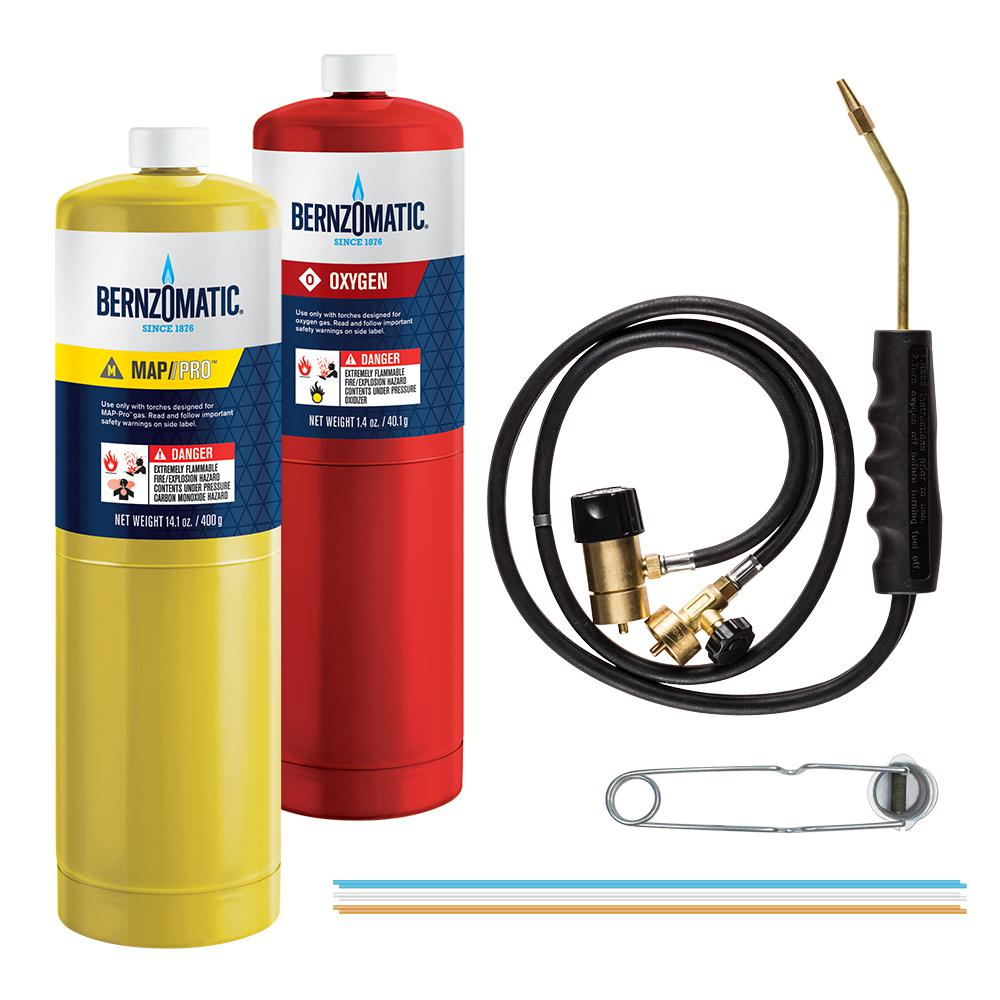 Bernzomatic WK5500 Brazing Torch Kit
