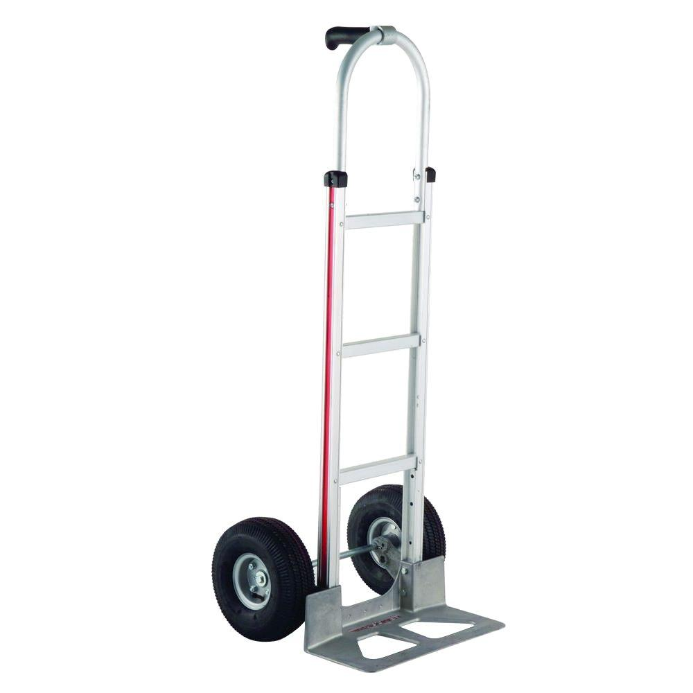 500 lb. Capacity Aluminum Modular Hand Truck with Single Pistol Grip