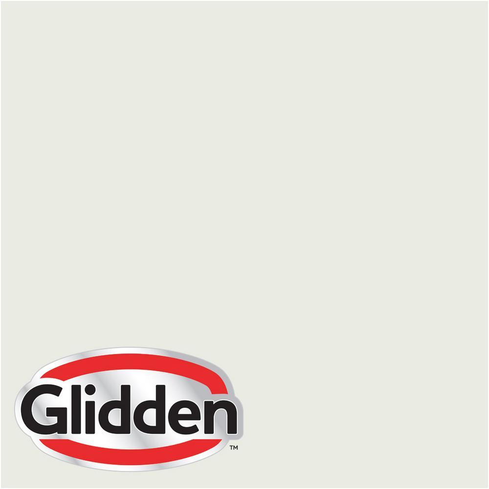 Glidden Premium 1 Gal Hdgg43 Morning Hush White Flat Interior Paint With Primer Hdgg43p 01fn The Home Depot