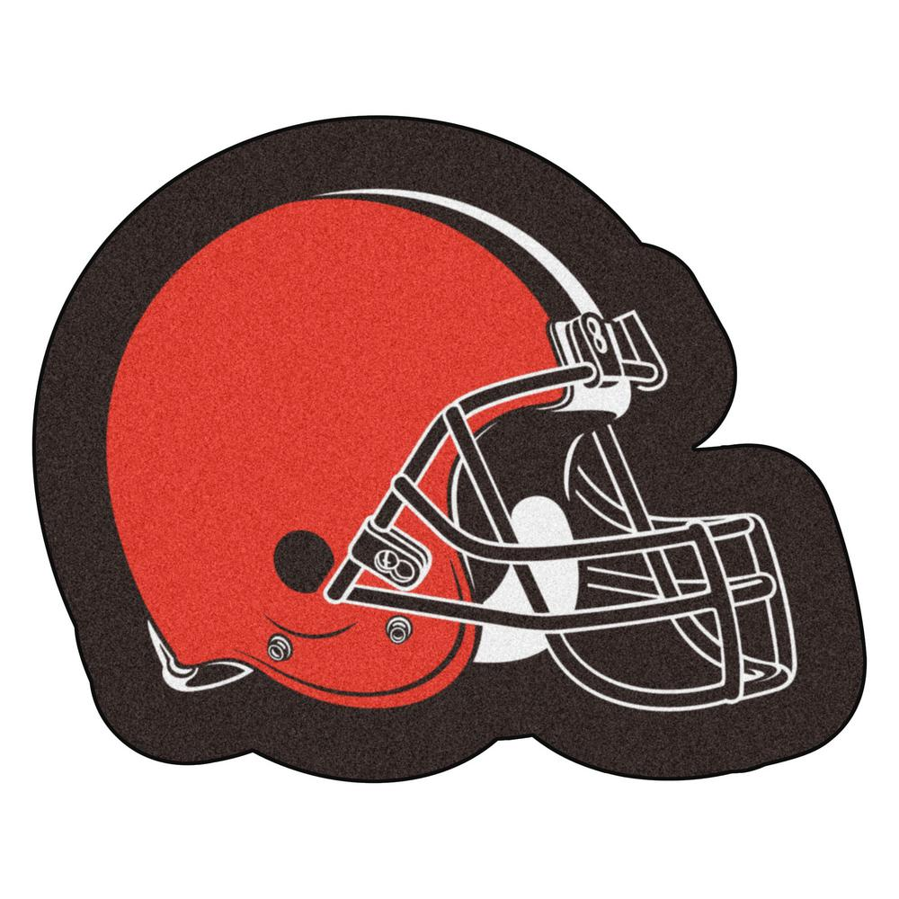 9bb6b2a4b FANMATS NFL - Cleveland Browns Mascot Mat 36 in. x 28.7 in. Indoor Area