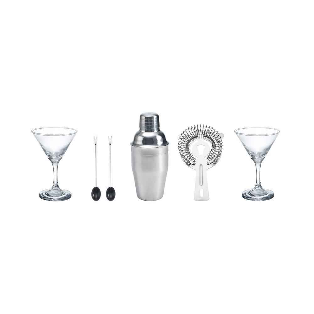 Barcraft 6-Piece Martini Set