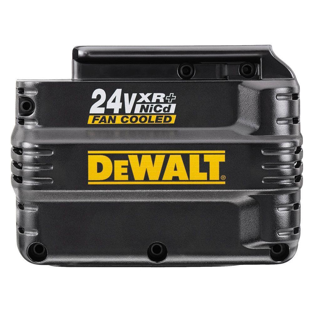 DEWALT 24-Volt XR+ Pack Fan Cooled Extended Run-Time Battery