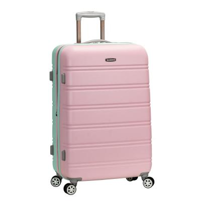 Melbourne 28 in. Mint Expandable Hardside Dual Wheel Spinner Luggage