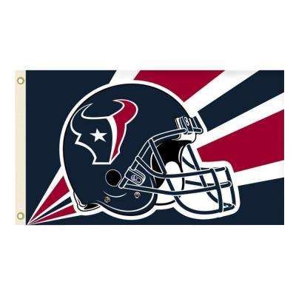 3 ft. x 5 ft. Polyester Houston Texans Flag