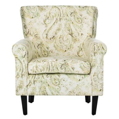 Hazina Gray Accent Chair