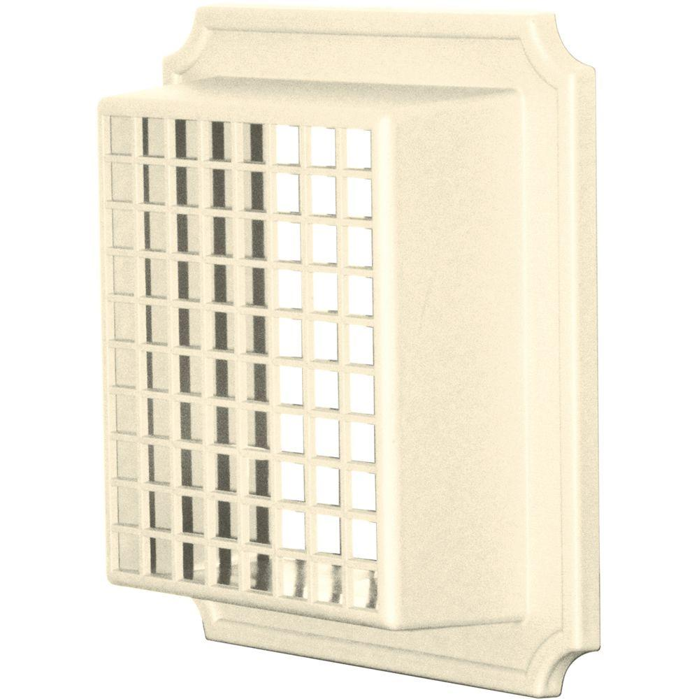 Builders Edge Exhaust Vent Small Animal Guard #020-Heritage Cream