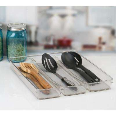 3-Compartment Oversized Cutlery Tray