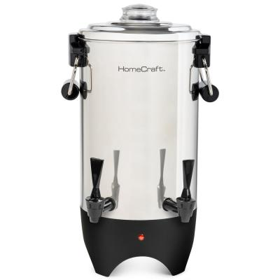 45-Cup Stainless Steel Quick Brewing Coffee Urn