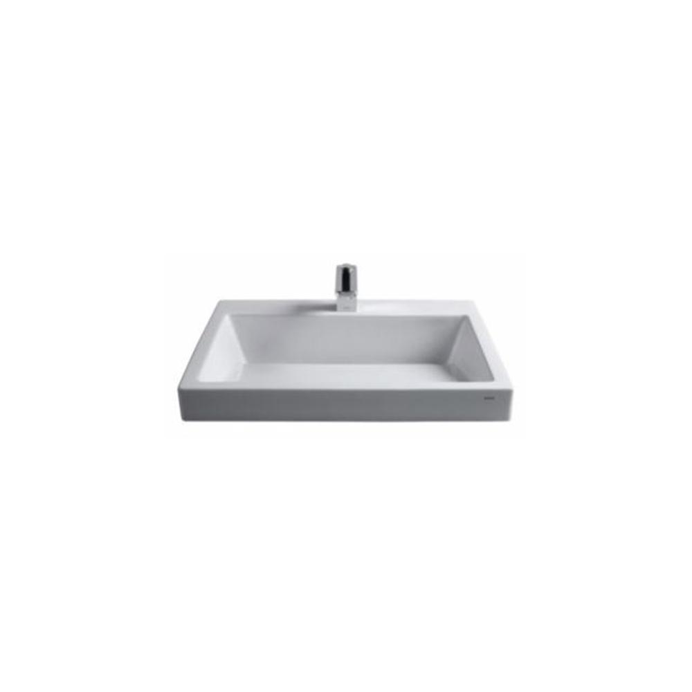 TOTO Kiwami Renesse I 24 in. Vessel Sink with Single Faucet Hole ...