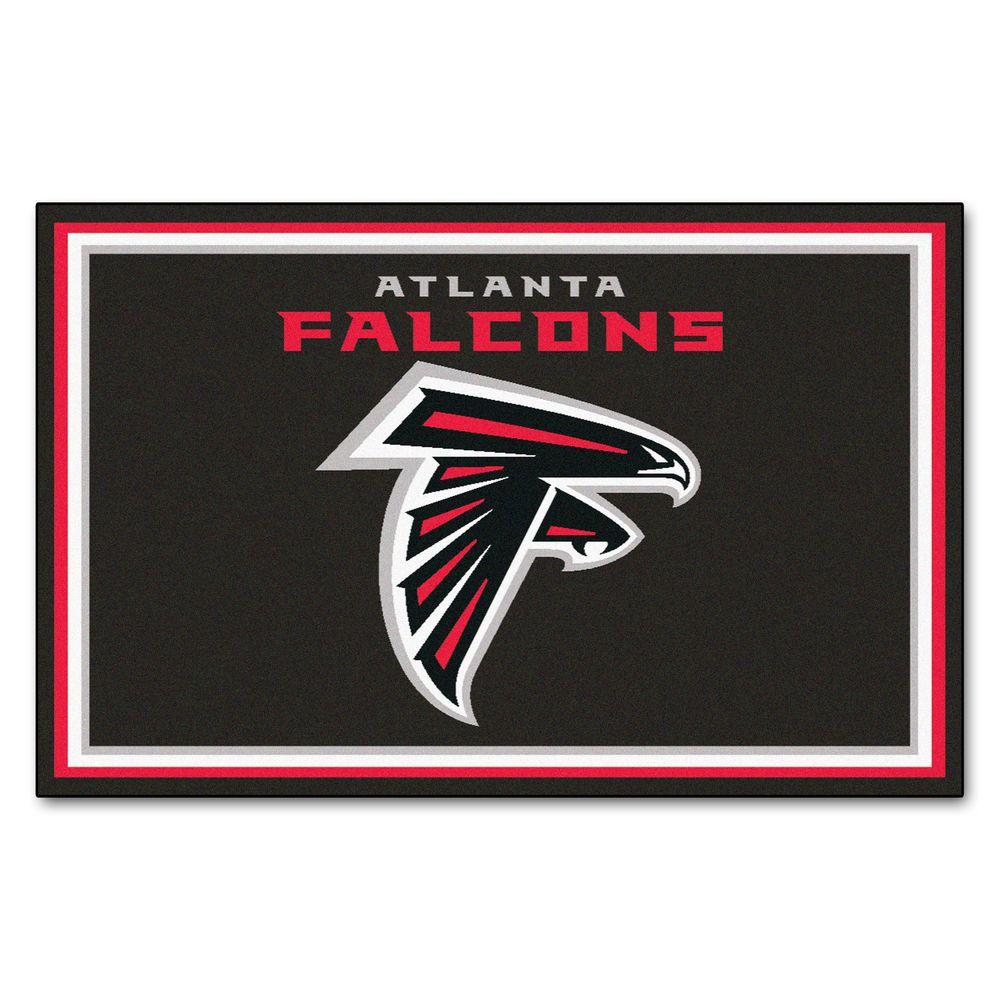 Fanmats Atlanta Falcons  Ft X  Ft Area Rug