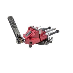 3 in. Low-Profile Ratcheting Bench Vise