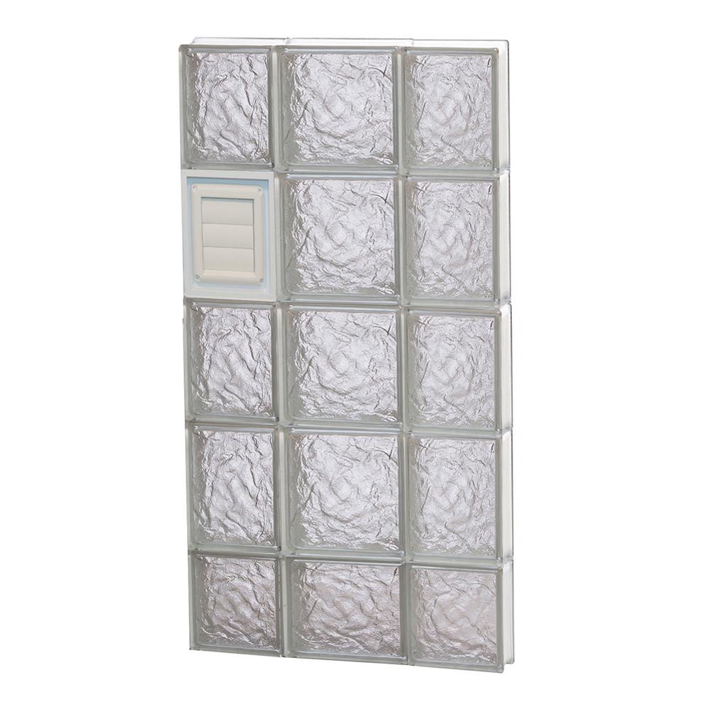 Clearly secure in x in x in ice for Where to buy glass block windows