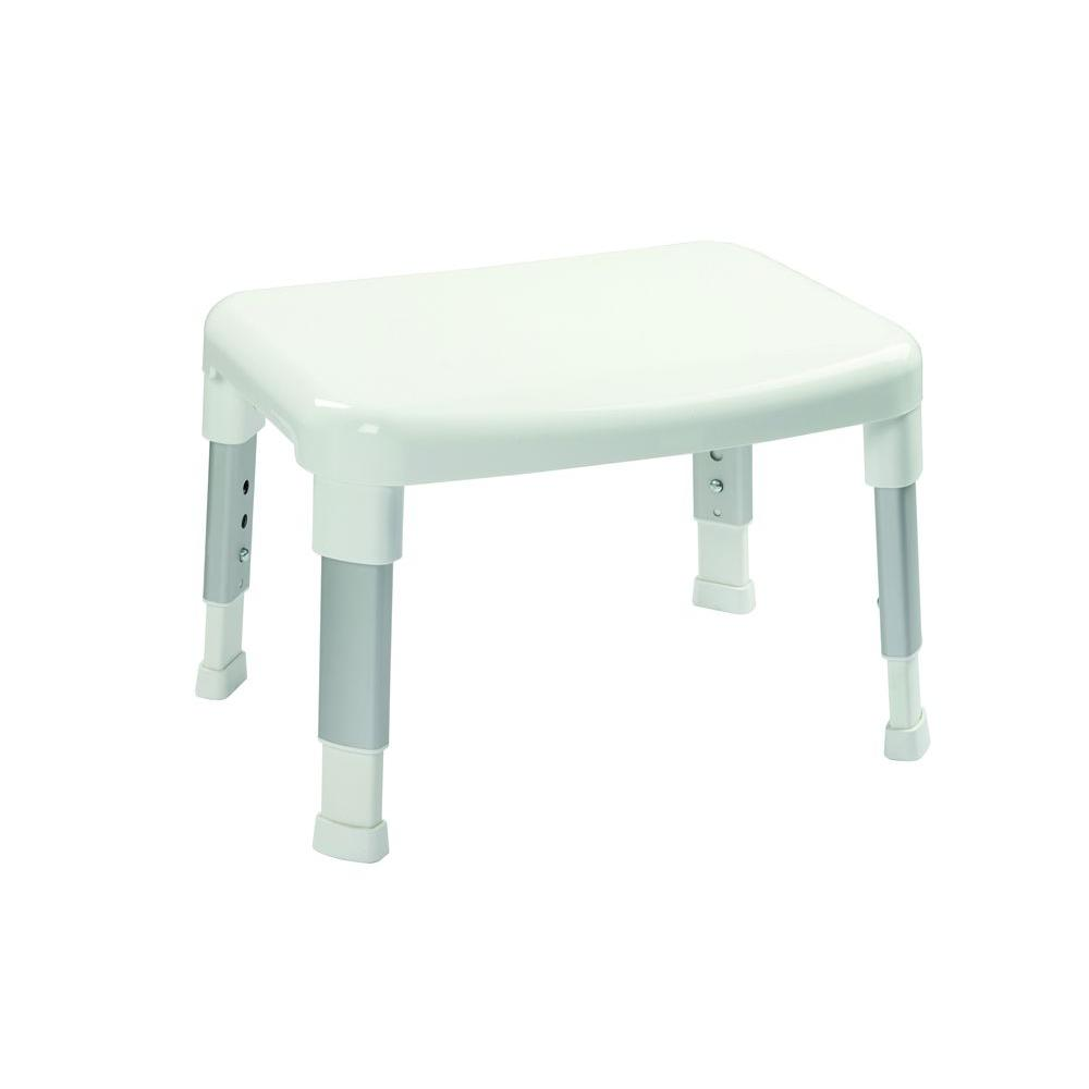 Croydex Small Adjustable Shower Seat in White-AP130222YW - The Home ...