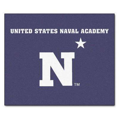 U.S. Naval Academy 5 ft. x 6 ft. Tailgater Rug