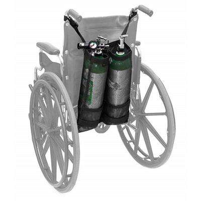 Double Oxygen Cylinder Bag for Wheelchair