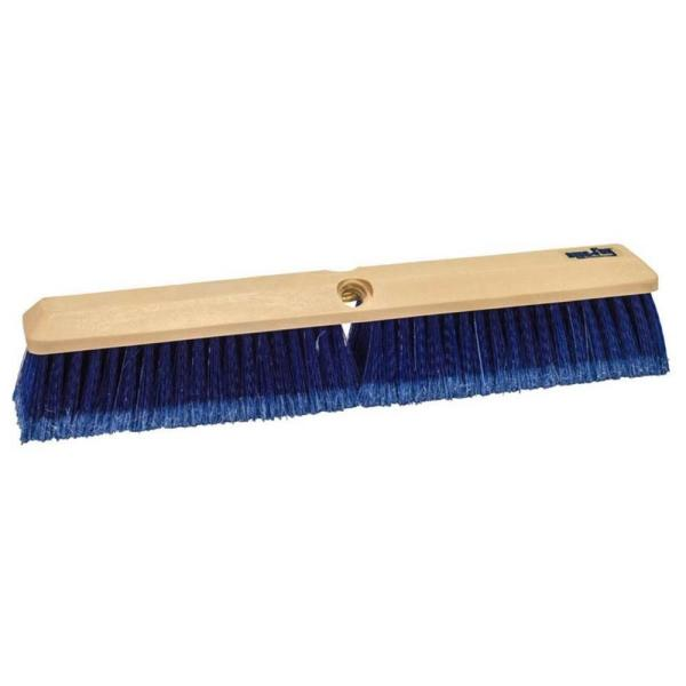 18 in. Blue Flagged Styrene Truck Wash Brush