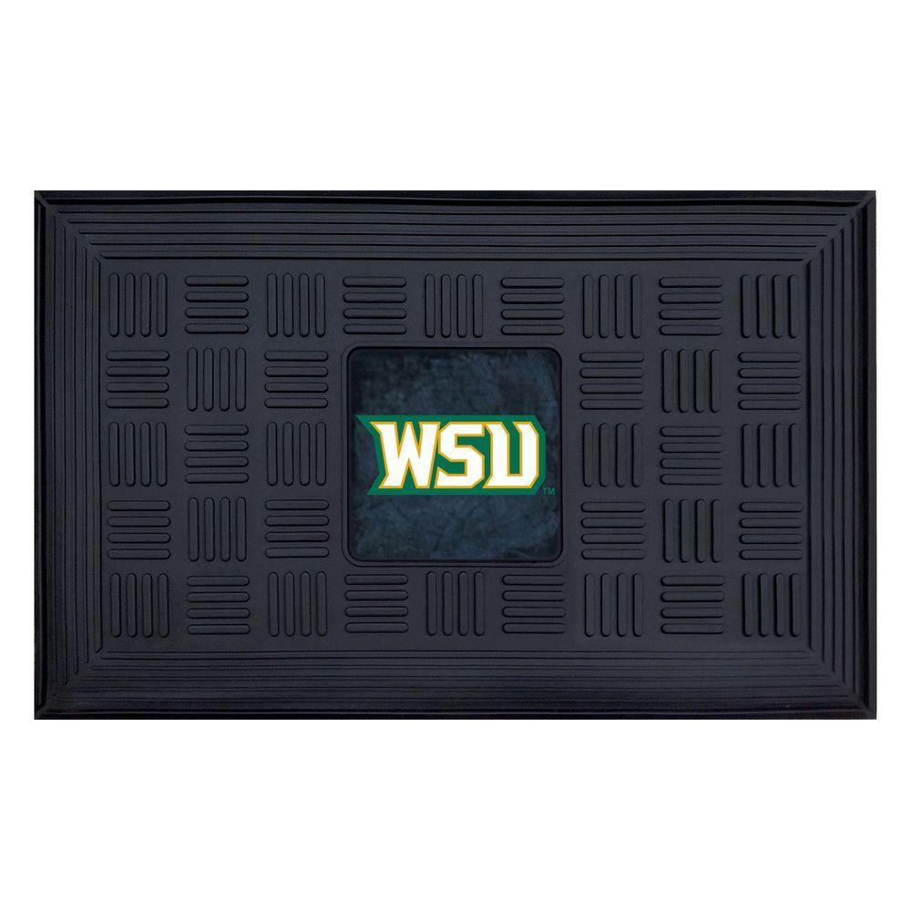 NCAA DWright State University 18 in. x 30 in. Vinyl Door