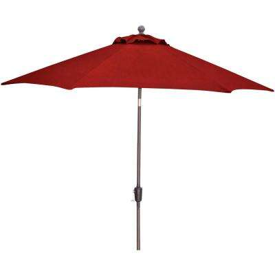 Traditions 11 ft. Table Umbrella in Red
