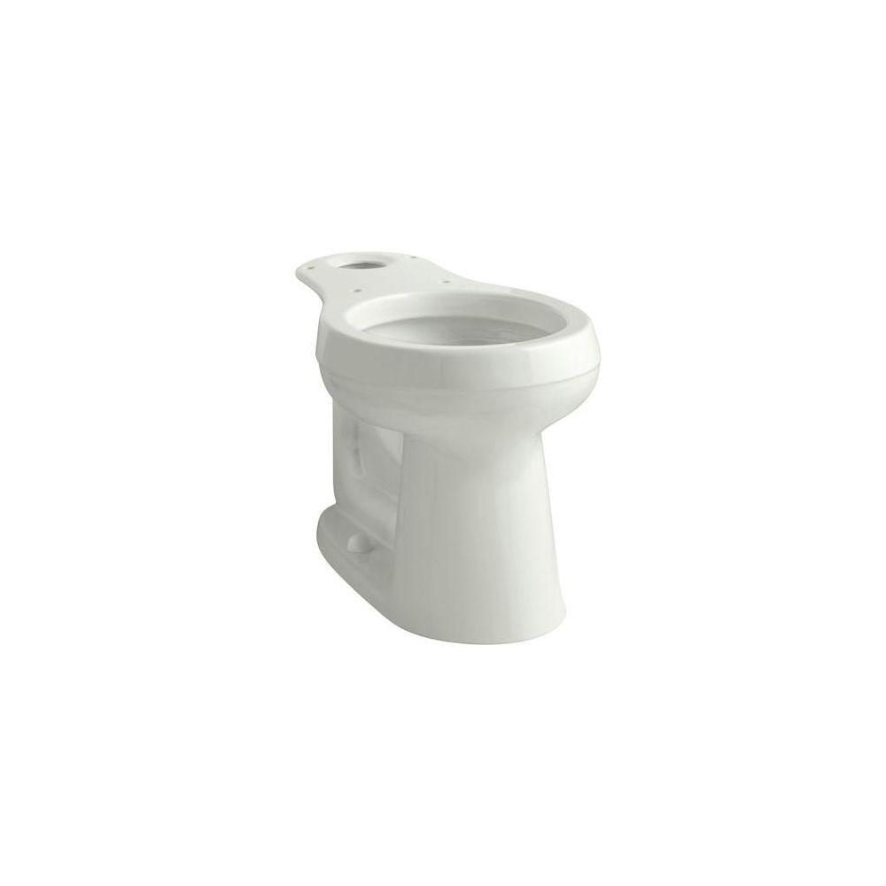 a29aec7c74 KOHLER Cimarron Comfort Height Round Toilet Bowl Only in Dune-K-4347 ...