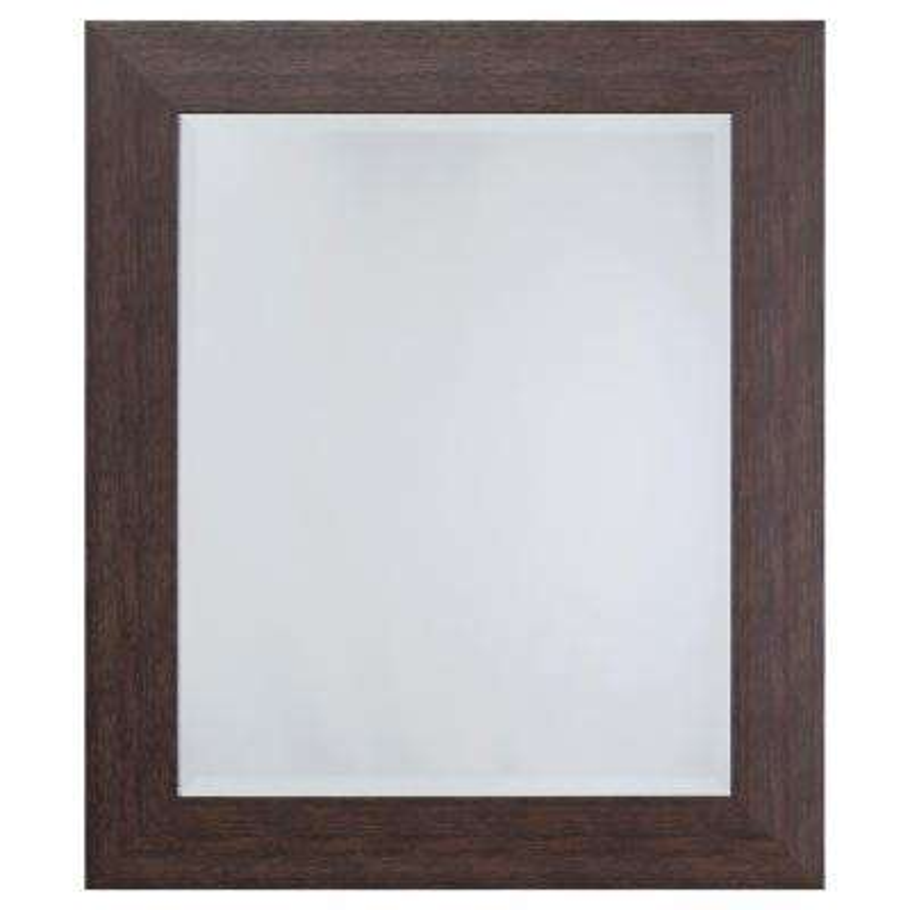 Mirror with Espresso Frame