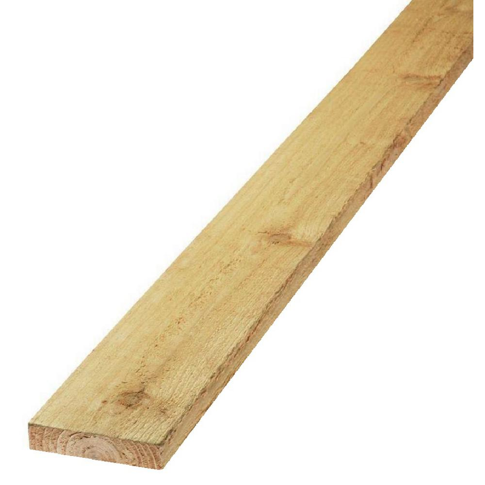 1 in. x 6 in. x 8 ft. S1S2E Cedar Board (5-Pack)