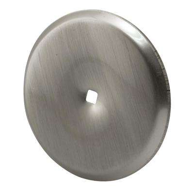 2-13/16 in. Satin Nickel Cabinet Knob Back Plate (2-Pack)