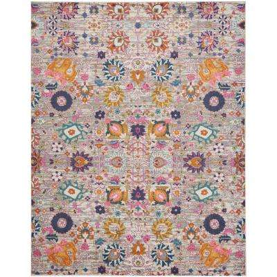 Passion Silver 7 ft. x 10 ft. Area Rug