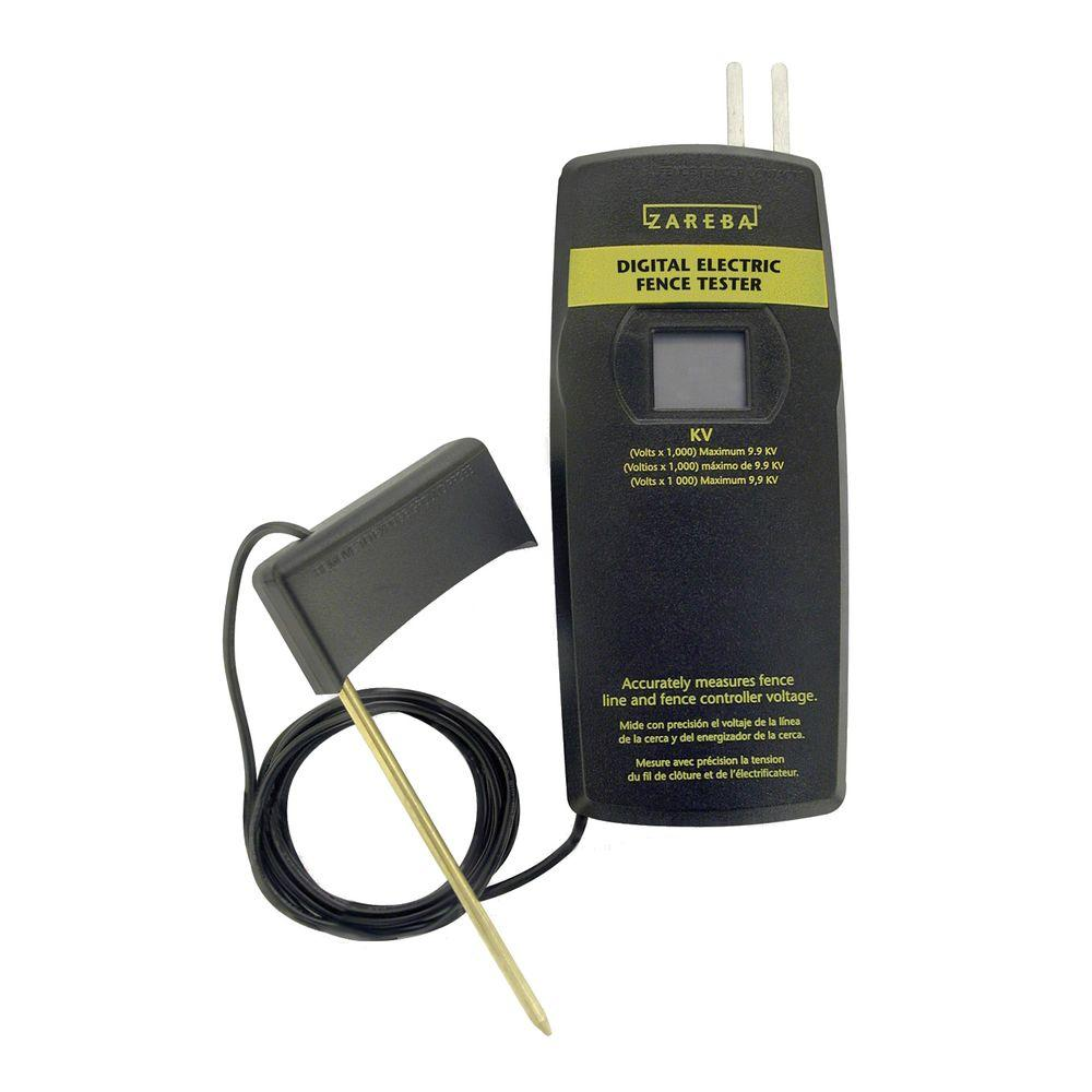 Zareba® digital electric fence tester | model # deft.