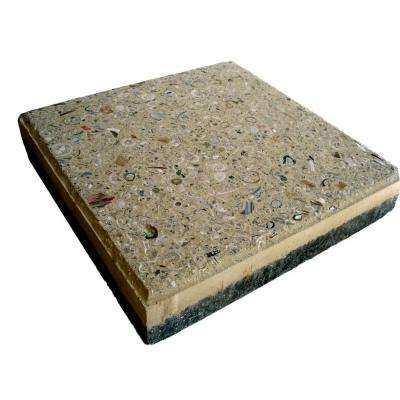 12 in. x 12 in. Paver Buff with Shells and Abalone (99 sq. ft. per pallet)