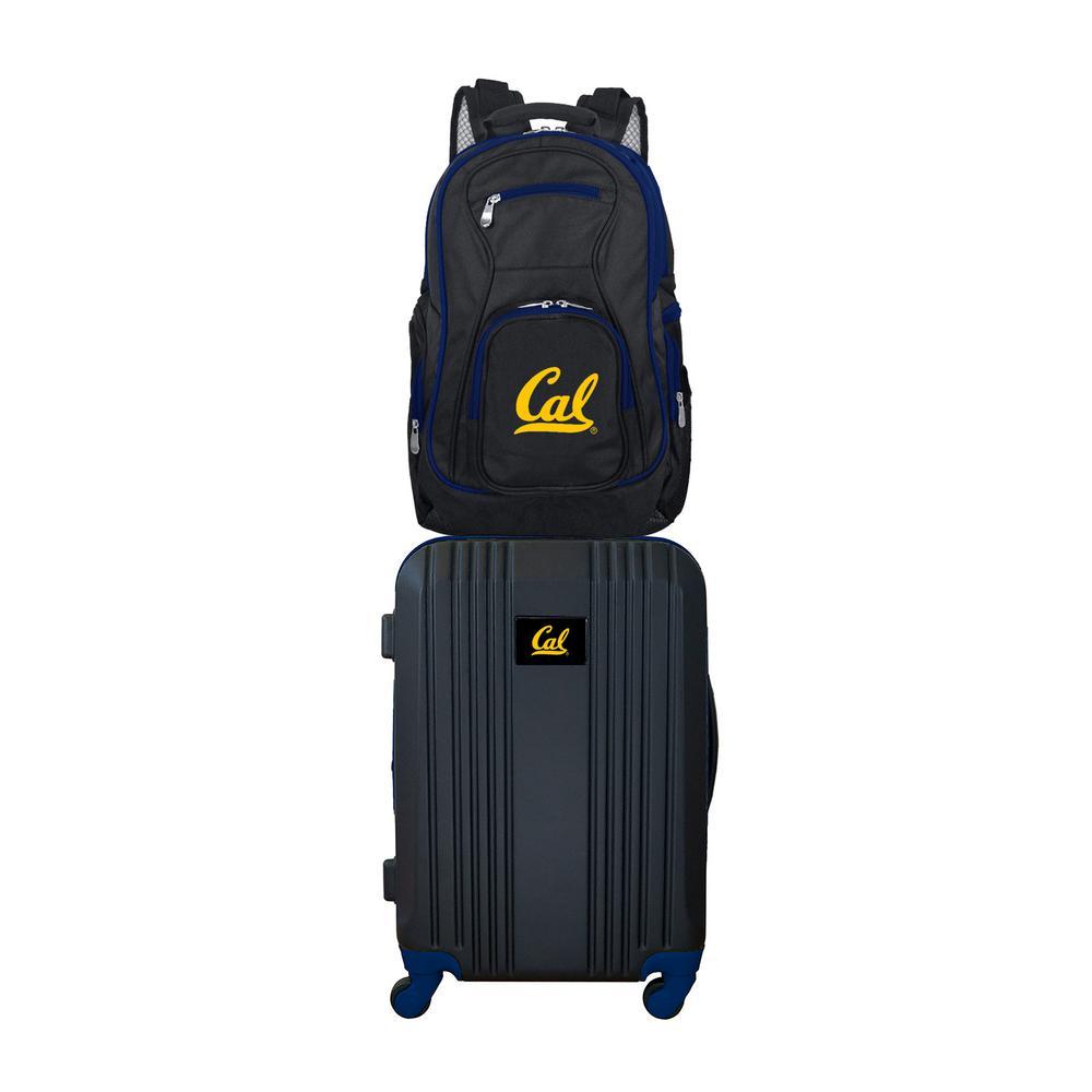 NCAA California Bears 2-Piece Set Luggage and Backpack