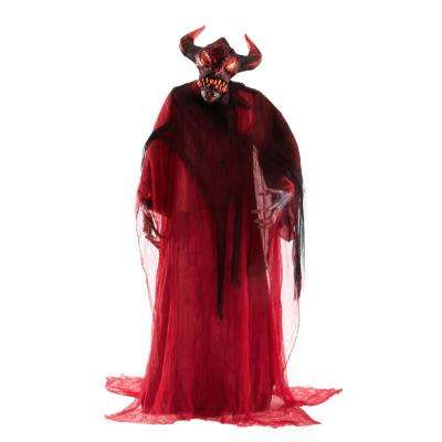 80 in. Animated Standing Devil in Red