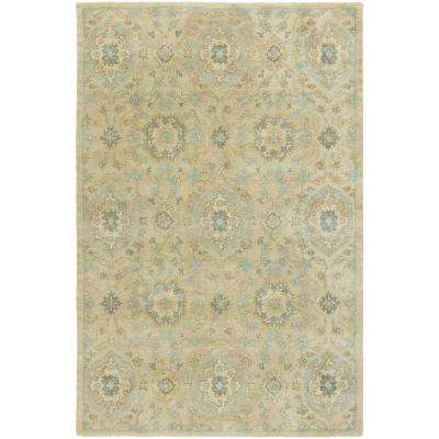 Seville Sand/Cornflower 2 ft. x 3 ft. Area Rug