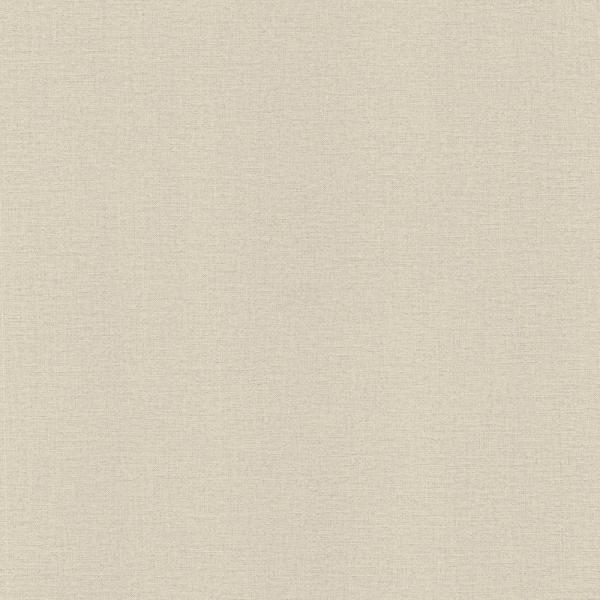 Advantage 56.4 sq. ft. River Beige Linen Texture Wallpaper 2773-448634