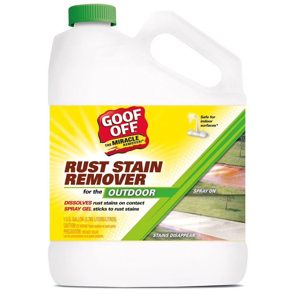Goof Off 128 Oz Rust And Stain Remover Gsx00101 The Home Depot