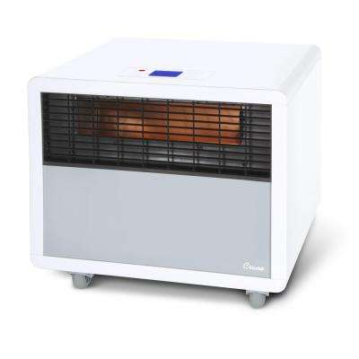 1500-Watt Digital Infrared Portable Space Heater in White