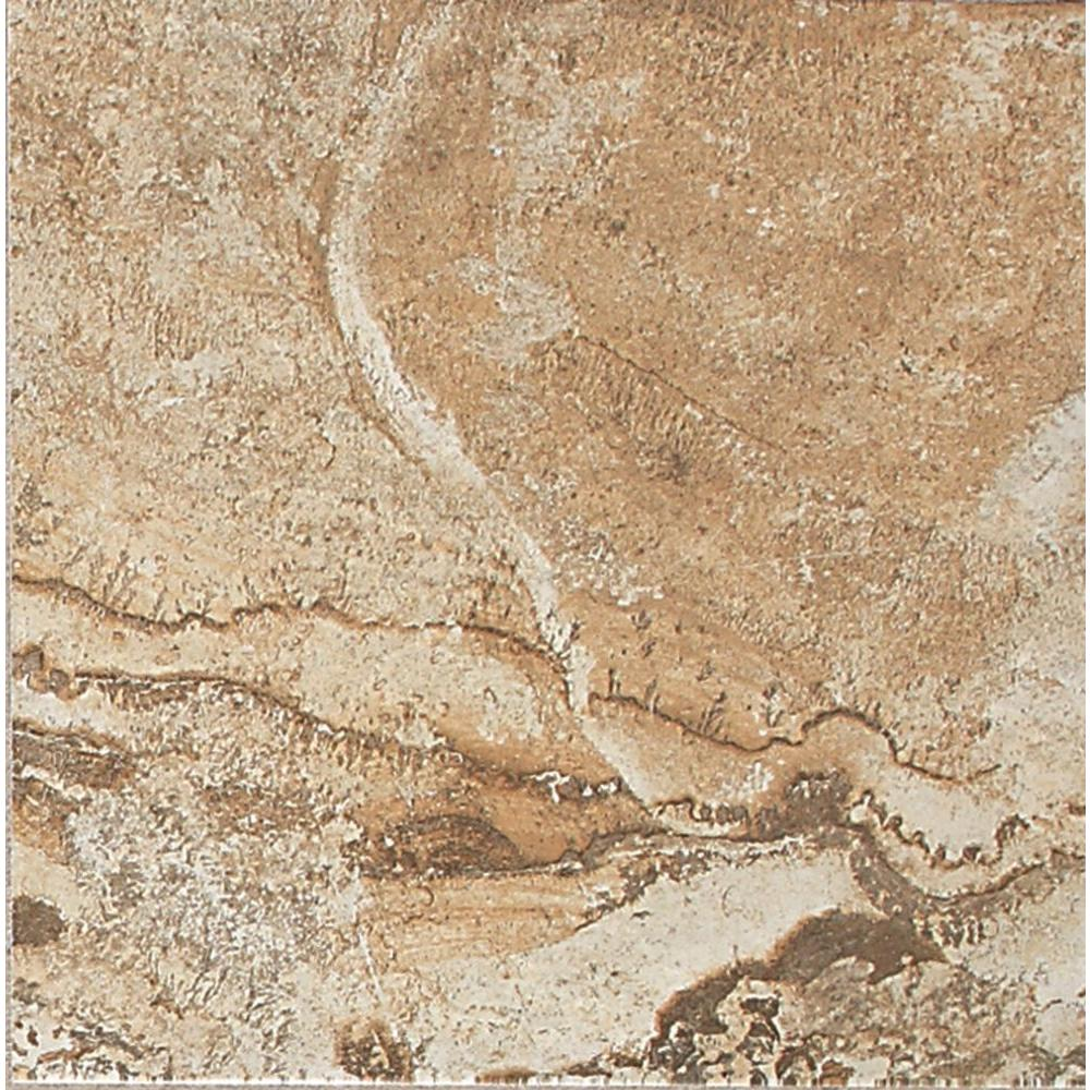 Daltile Folkstone Slate Sandy Beach 6 In X Ceramic Wall Tile