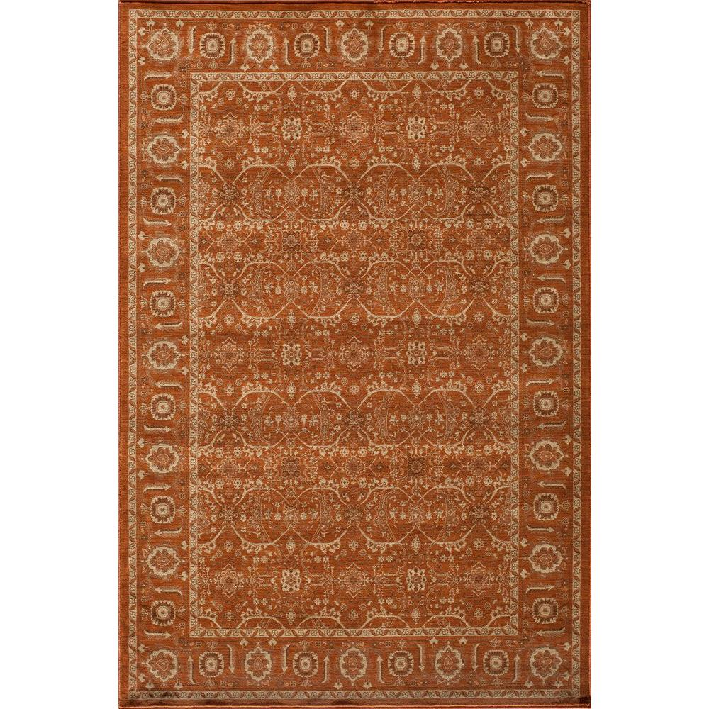 Momeni Encore Paprika 3 ft. 11 in. x 5 ft. 11 in. Indoor Area Rug