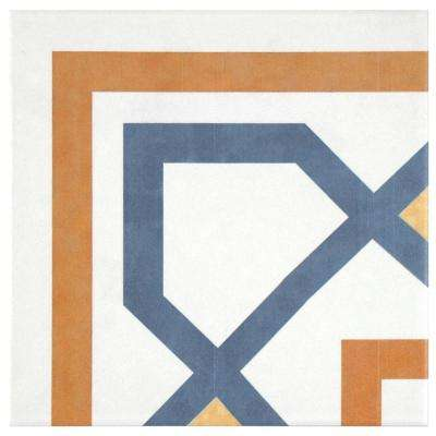 Revival Corner 7-3/4 in. x 7-3/4 in. Ceramic Floor and Wall Tile