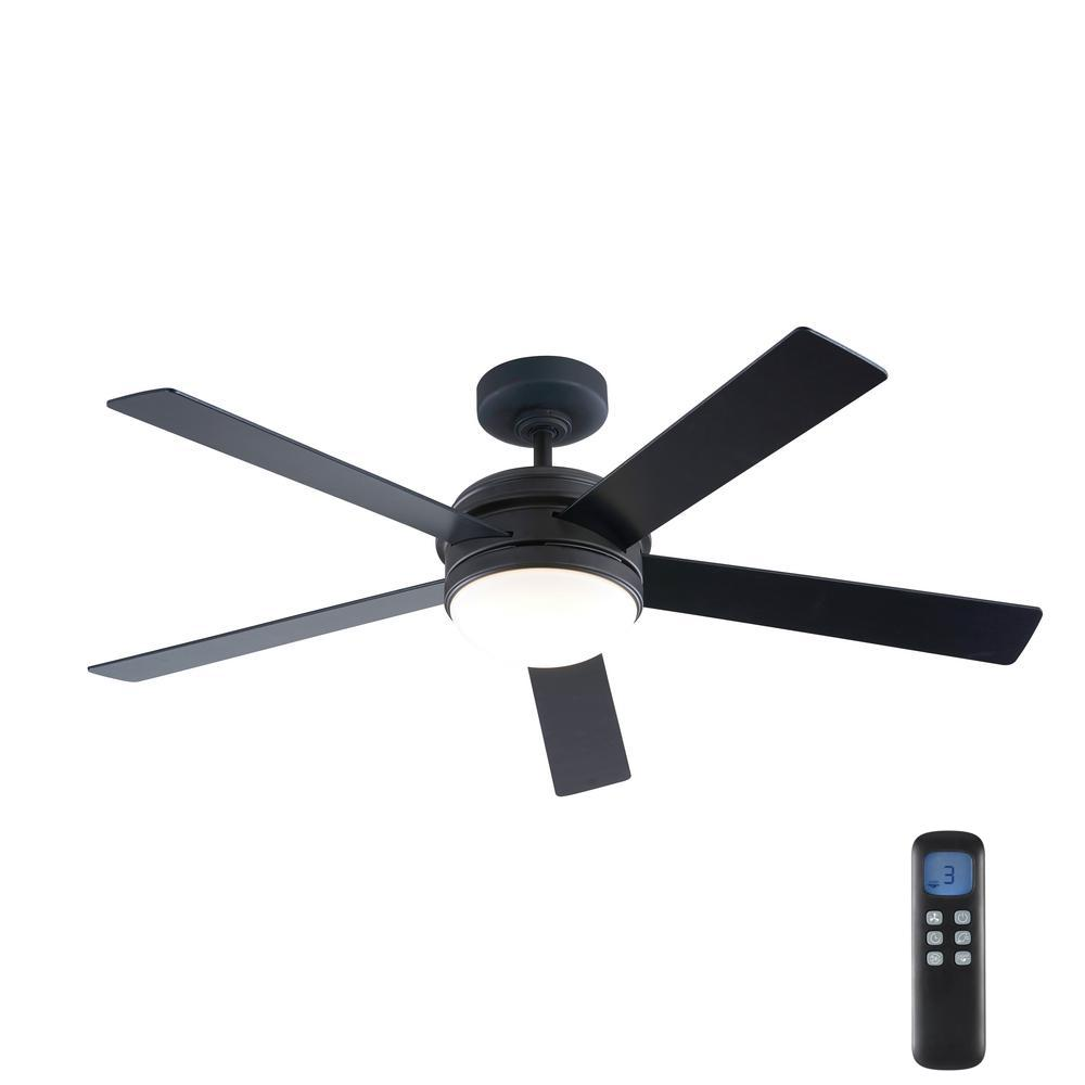 Home Decorators Collection Audrino 56 in. Integrated LED Indoor Oil Rubbed Bronze DC Ceiling Fan with Light Kit and Remote Control