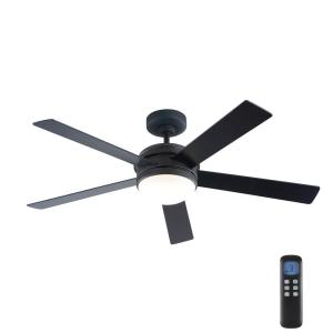 Audrino 56 in. Integrated LED Indoor Oil Rubbed Bronze DC Ceiling Fan with Light Kit and Remote Control