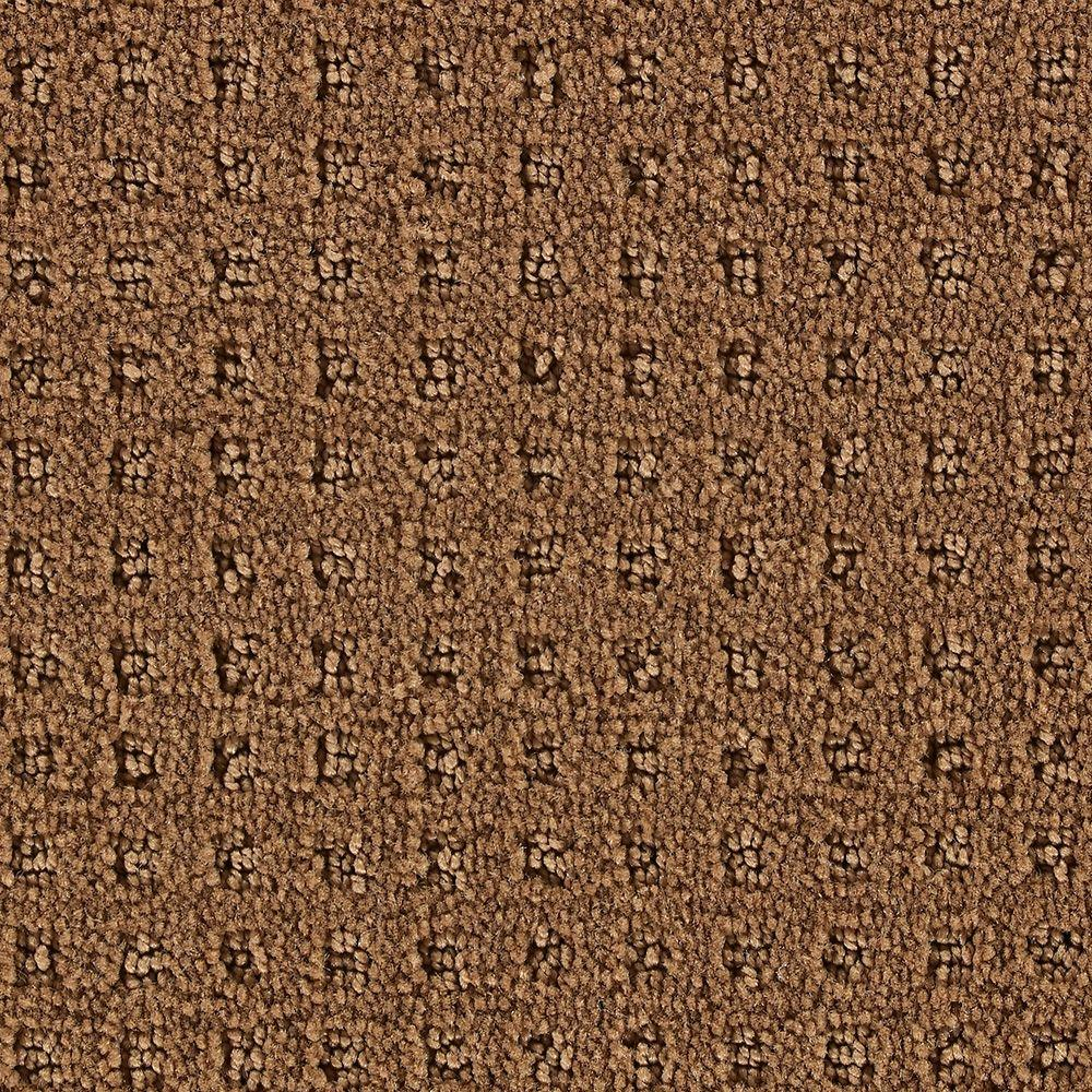 Martha Stewart Living Springwood Nutmeg - 6 in. x 9 in. Take Home Carpet Sample