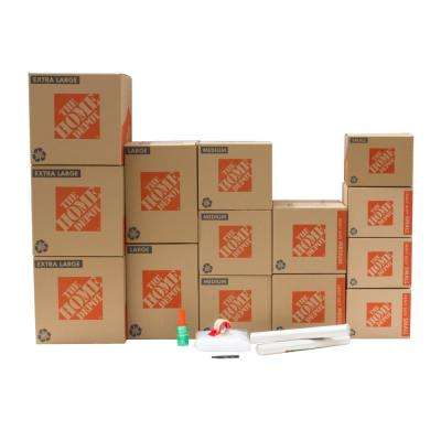 14-Box Garage Moving Box Kit